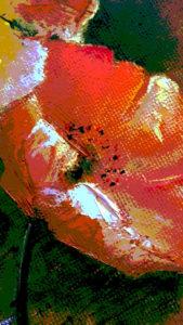 Facing the sun - oil on canvas1